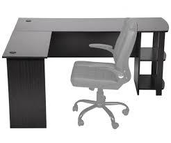 L-Shaped Corner Computer Office Desk Workstation Table for Home Office 1620