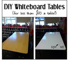 classroom whiteboard ideas. classroom diy: whiteboard tables -sproutclassrooms.com ideas