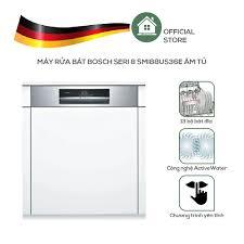 Máy rửa chén bát bán âm 14 bộ bosch smi88us36e seri 8 - hàng nhập khẩu đức  - made in germany - Sắp xếp theo liên quan sản phẩm