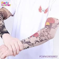 čína Přizpůsobené Nylon Fake Dočasné Tattoo Rukávy Dodavatelé A