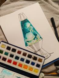 Me Again Did Another Fish Lava Lamp This Time In Jellyfish Flavor