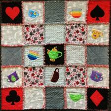 Stunning Applique Rag Quilt & Learn How to Make Your Own. Alice applique rag quilt Adamdwight.com