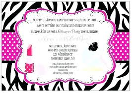 Spa Birthday Party Invitation Template Free Invitations Together