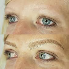 eyebrow microblading blonde hair. #microblading more eyebrow microblading blonde hair