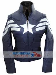 the winter solr captain america jacket for women