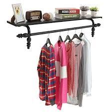garment hanging storage rod rack