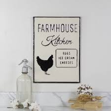 Add farmhouse charm to your home with metal signs, wooden decor, wall art and more. Farmhouse Kitchen Wall Decor Wayfair