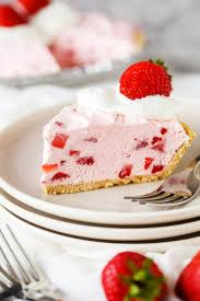 strawberry pie slice.  Pie Fresh Frozen Strawberry Pie Slice Inside L