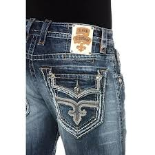 New With Tags Mens Rock Revival Denim Jeans Matty Straight 29 30 31 32 34 36 38 40 42 Long