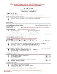 Resume Examples Gpa Resume Templates Design For Job Seeker And Career