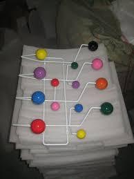 Coloured Ball Coat Rack Online Shop Multi Color Eeammes hang it all rack Coat Rack Hook Coat 80