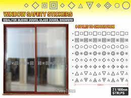 frosted etch glass safety door window
