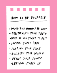 how to be yourself design sponge how to be yourself