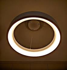 ceiling light living room by origami space design