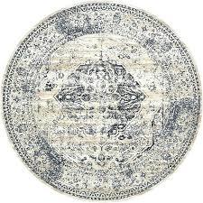 round rugs 8 foot round rugs 8 ft dark blue 8 x 8 villa round rug