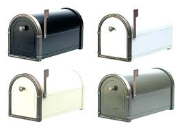 Lockable Post Mount Mailbox Locking With  Architectural Mailboxes Oasis Jr Or Column  Column Mount Mailbox U77