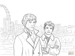 Free Sherlock Holmes Stories And Tales Coloring Books For Kids
