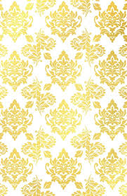 Gold Damask Background Buy Gold Foil Damask Pattern Gold Damask Art Print By