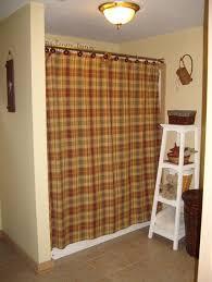 Shower Curtains Cabin Decor Bathroom Country Bathroom Shower Curtain With Stars Design The
