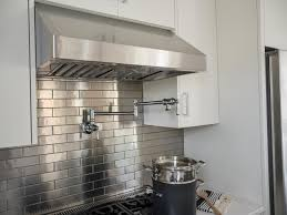 Metal Wall Tiles For Kitchen Kitchen 26 Stainless Steel Kitchen Backsplash Ideas Kitchen