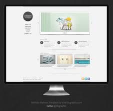 Portfolio Website Templates Delectable Free Portfolio Website Template Psd