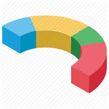 Chart Progress Graphs And Charts By Vectors Market