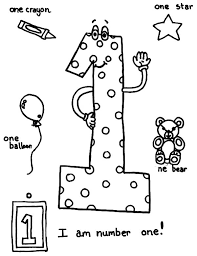 Small Picture I am Number One Coloring Page NetArt