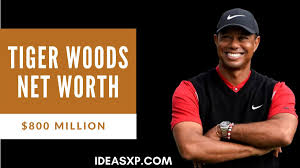 Tiger Woods Net Worth - IdeasXp