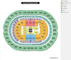 Moda Center Hockey Seating Chart Consol Energy Center Seating View Target Center Seating