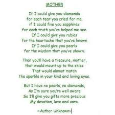 Small Picture The 25 best Short mothers day poems ideas on Pinterest Mothers