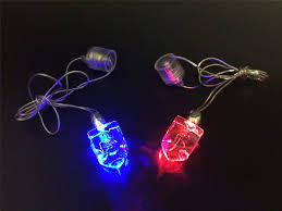 Light Up Hanukkah Necklace Buy 50 Hanukkah Glow In The Dark Led Dreidel Necklace