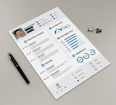 Best Infographic Resume Template With Cover Letter Pixelify