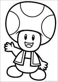 Coloring Pages Mario Mario Coloring Pages Free Download Best Mario Coloring