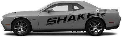 2015 2016 2017 2018 2019 2020 Dodge Challenger Shaker Billboard Side Stripes Vinyl Graphics Stripes Decals Kit Fits Sxt Sxt Plus Gt Awd