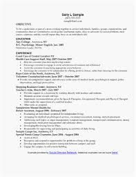 Example Of Social Work Resumes Sample Social Work Resume Greatest Social Work Resume