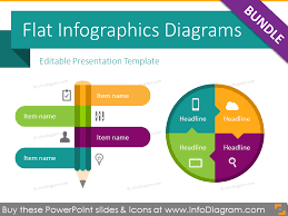 Infographics For Powerpoint 210 Modern Flat Infographic Powerpoint Templates Ppt Editable