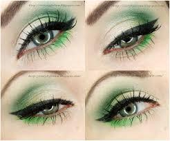 neon green refreshing juicy eyes makeup tutorial