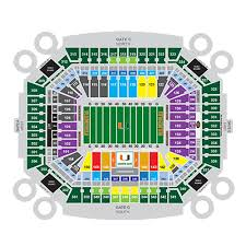 Georgia Tech Basketball Stadium Seating Chart Georgia Tech Yellow Jackets Football At Miami Hurricanes