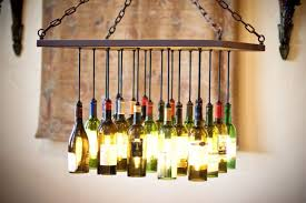 scenic custom wine bottle chandelier by gordon living custommade glass diy milk forade lighting kit water