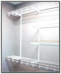 how to install wire shelving parts closet home depot shelves installation installing shelf wire shelf closet