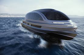 Expert super car builders at bugatti have partnered with the expert super yacht designers at palmer johnson to develop the bugatti niniette 66, an extremely innovative and powerful yacht. Lazzarini Designs 40m Xenos Yacht Concept With Bugatti Hypercar