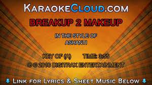ashanti breakup 2 makeup backing track