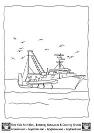 Small Picture fishing on boat coloring sheet 14gif 603848 Newfoundland