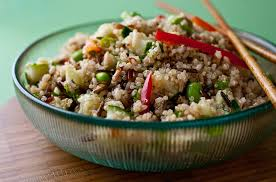 quinoa and wild rice salad with ginger sesame dressing recipe nyt cooking