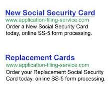 We did not find results for: Social Security Card