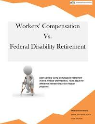 Workers Comp Disability Chart Workers Compensation Vs Federal Disability Retirement