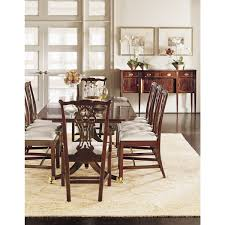 hickory dining room chairs. hickory chair james river baltimore double pedestal dining table top only (two (2) 22\ dining room chairs o