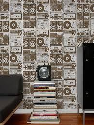 kid wallpaper usa mylar. Analog Nights Designer Wallpaper By Aimée Wilder. Made In The USA. | Wilder Kid Usa Mylar A