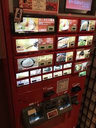 Ramen Vending Machine Impressive Order Your Ramen And Extras At This Vending Machine Yelp