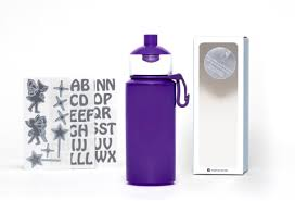 homemade water filter bottle. DIY Fairies- Popup Water Bottle Purple - 275ml Homemade Filter